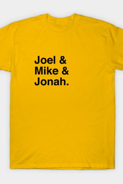 MST3K Joel Mike Jonah Hosts Ampersand T-Shirt