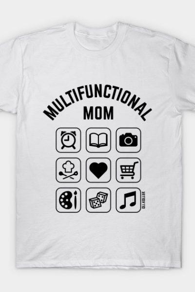 Multifunctional Mom (9 Icons) T-Shirt