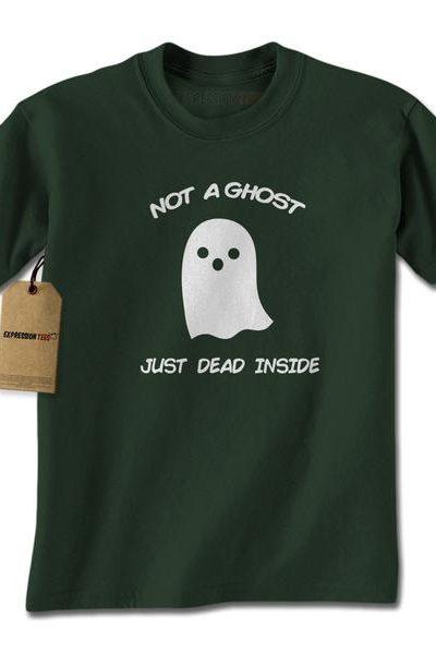Not A Ghost Just Dead Inside Mens T-shirt