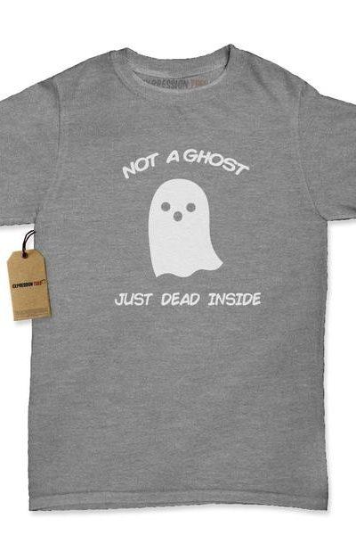 Not A Ghost Just Dead Inside Womens T-shirt
