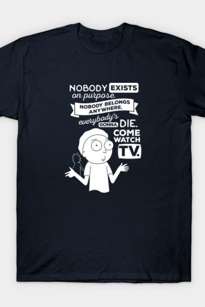 Rick and Morty Schwifty Wubba Lubba Fair Use Nobody Exists on Purpose T-Shirt