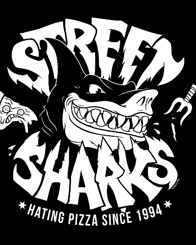 Sharks hate pizza