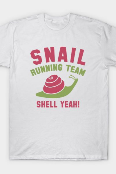 Snail Running Team T-Shirt