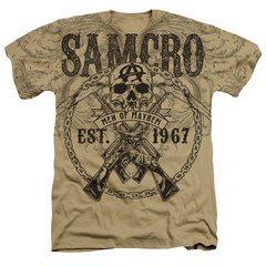 Sons of Anarchy Mayhem 67 Heather T-Shirt