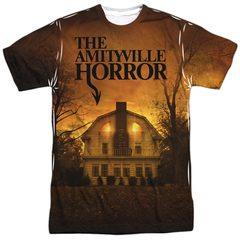 The Amityville Horror House Haunted Movie Logo Sublimation T-Shirt