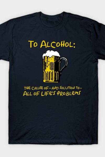To Alcohol T-Shirt