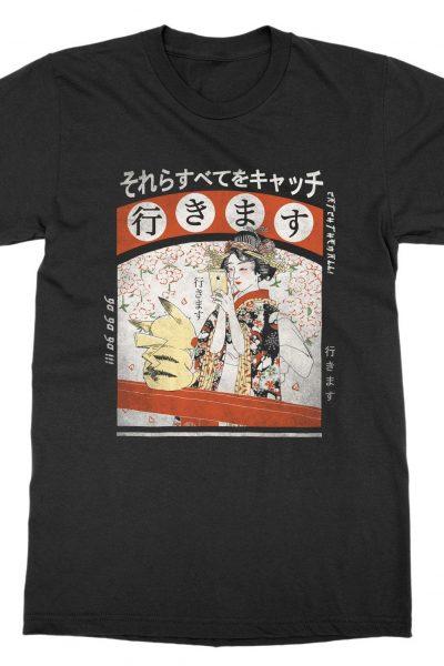 Tokyo, Japan 'Geisha Go' T-Shirt