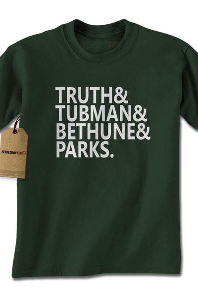 Truth Tubman Bethune Parks Mens T-shirt