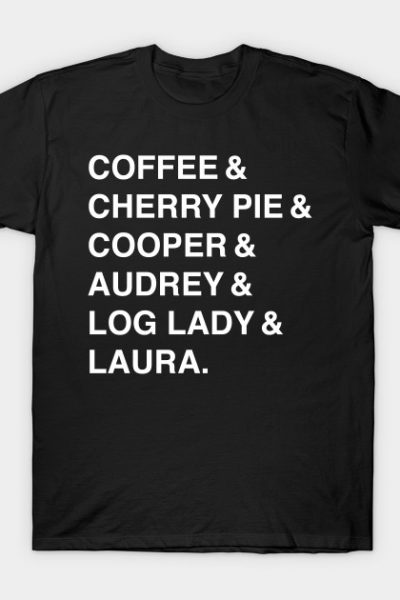Twin Peaks Coffee & Cherry T-Shirt