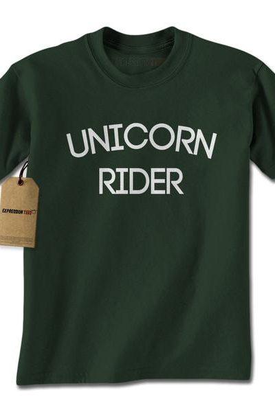 Unicorn Rider Mens T-shirt