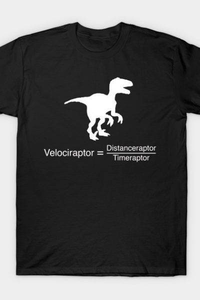 Velociraptor funny equation T-Shirt