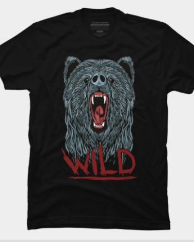 Watch out for that wild bear