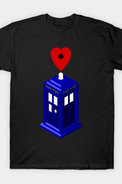 Whovian Heart 2 T-Shirt