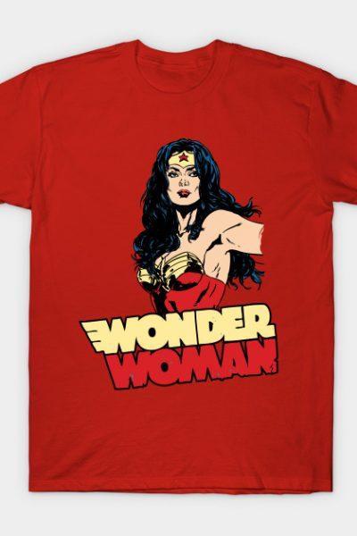 Wonder Woman is Back T-Shirt