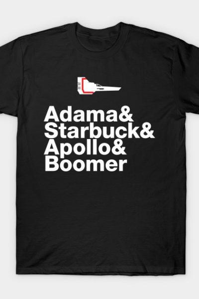 Battlestar Galactica: Experimental Jetset T-Shirt