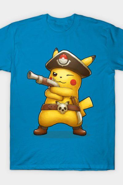 Captain Pikachu T-Shirt