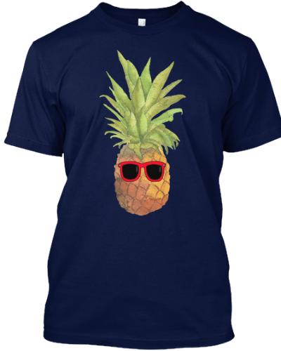 Cool Pineapple Summer T-shirt
