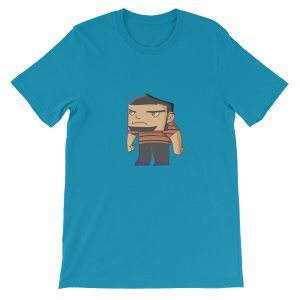 Cute Tough Guy 2d T-Shirts by doodles & noodles