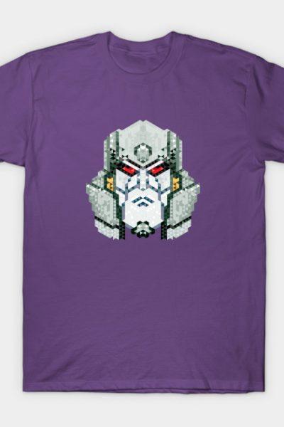 Deceitful Robot – Triangular Pixellation T-Shirt