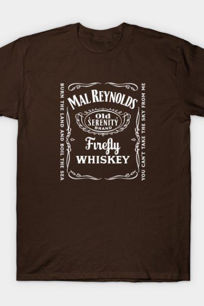 Firefly Serenity Jack Daniels Whisky T-Shirt