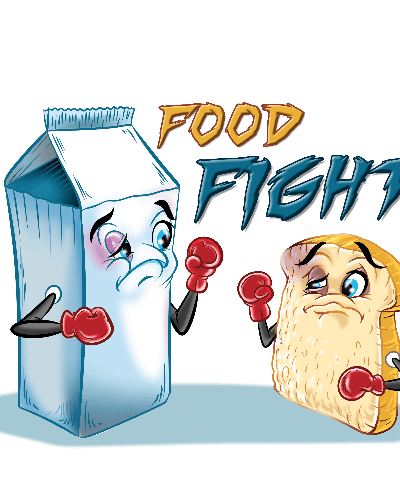 Food Fight Punny