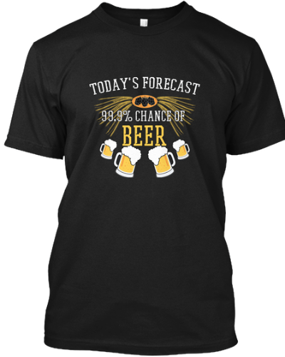 Forecast: Chance of Beer