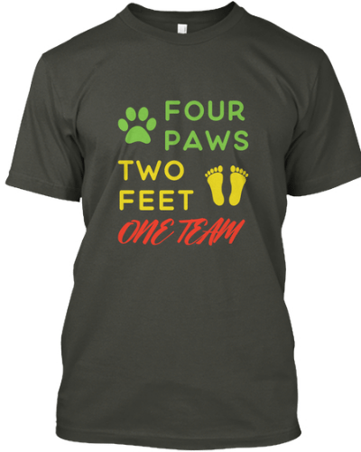 Four Paws Two Feet One Team