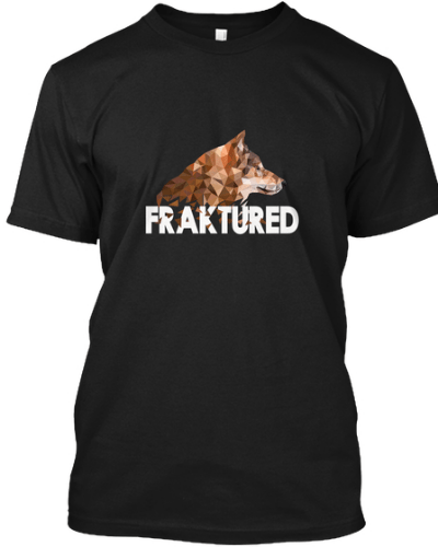 FRAKTURED polygon wolf