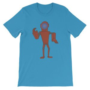 Funky Robot T-Shirts by doodles & noodles