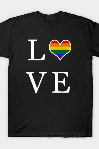 Gay Pride – LOVE T-Shirt