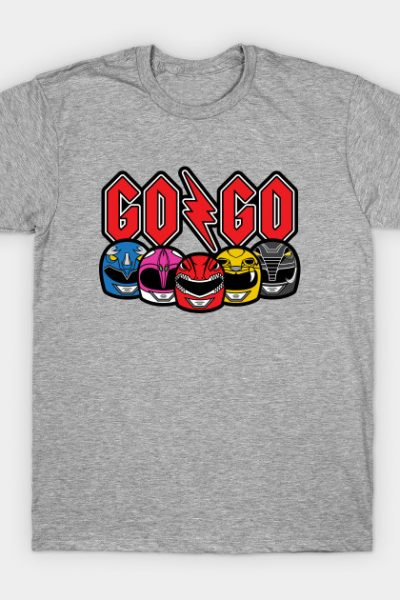 Go Go Rock and Rollin' Mighty Morphin' T-Shirt