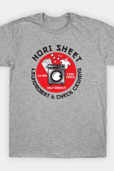 Hori Sheet Laundromat & Check Cashing T-Shirt
