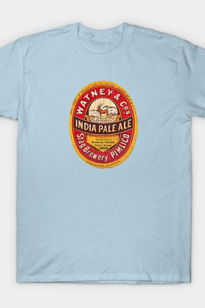 India Pale Ale Beer Label T-Shirt