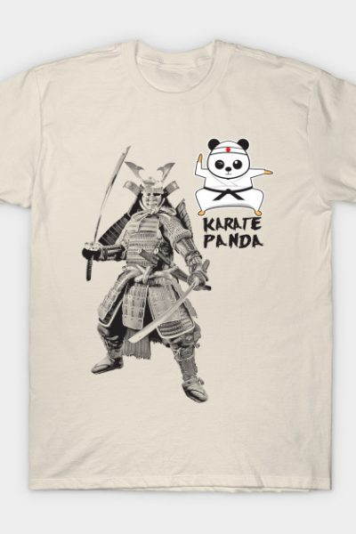Karate Panda Samurai Warrior T-Shirt