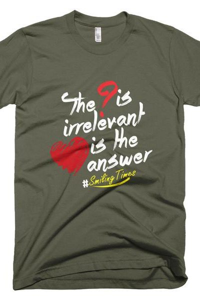 Love is the Answer T Shirt Men's