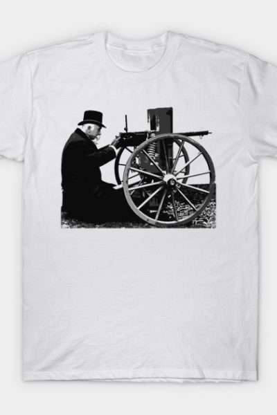 Machine Gun Gentleman T-Shirt