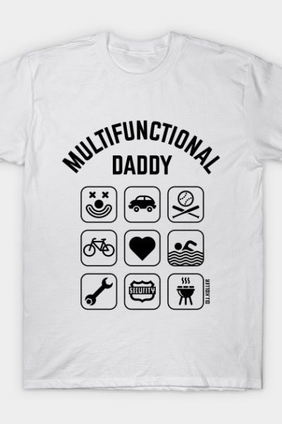 Multifunctional Daddy (9 Icons) T-Shirt