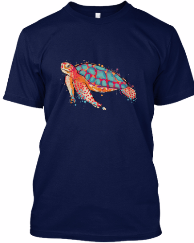 Ocean Turtle Beach Tshirt