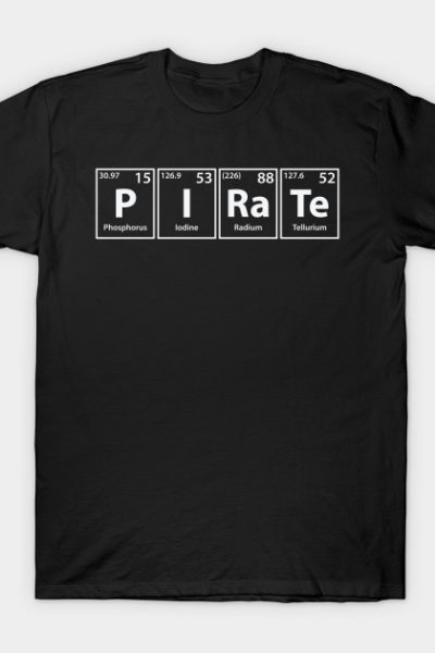 Pirate Elements Spelling T-Shirt