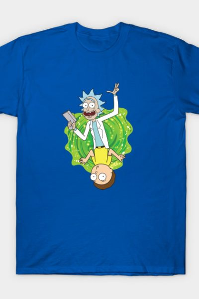 Rick and Morty Playing Card T-Shirt