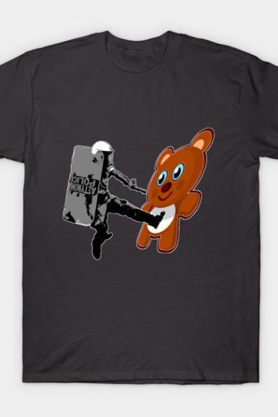 Riot Cop vs. Teddy Bear Part One T-Shirt