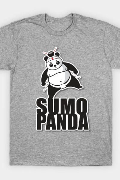 Sumo Panda by Karate Panda T-Shirt