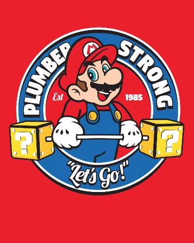 Super Mario Nintendo Gym Tshirt