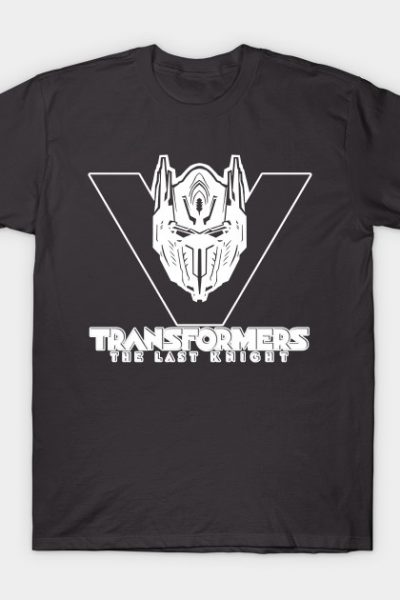 Transformers – The Last Knight (White) T-Shirt