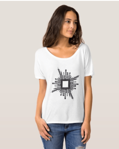 Women's Bella and the impact of modern cities T-Shirt