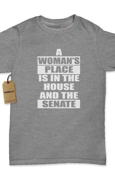 A Womans Place… Womens T-shirt