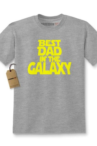 Best Dad In The Galaxy Kids T-shirt