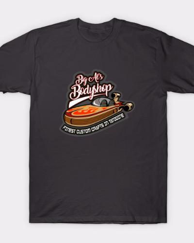 Big Al's Bodyshop Star Wars Tatooine T-Shirt