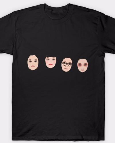 Clone Club Faces T-Shirt