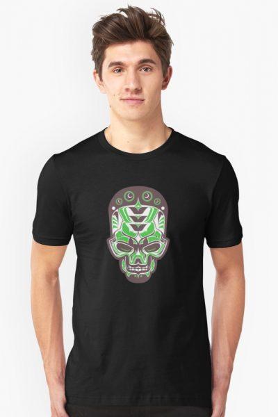 Colorful Tribal Skull